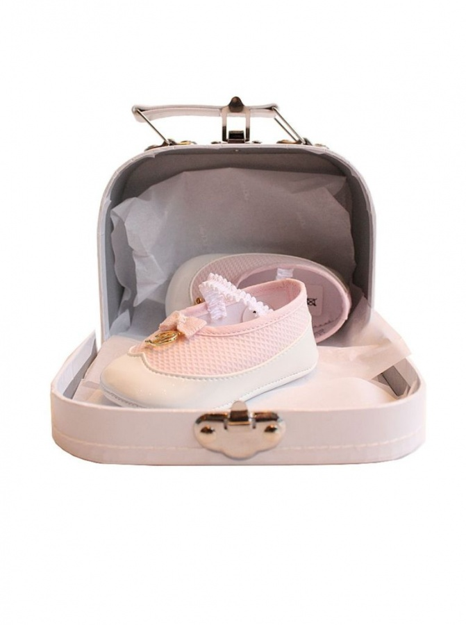 dior-kids-baby-pink-prewalker-shoes TOP 10 Stylish Baby Girls Shoes Fashion