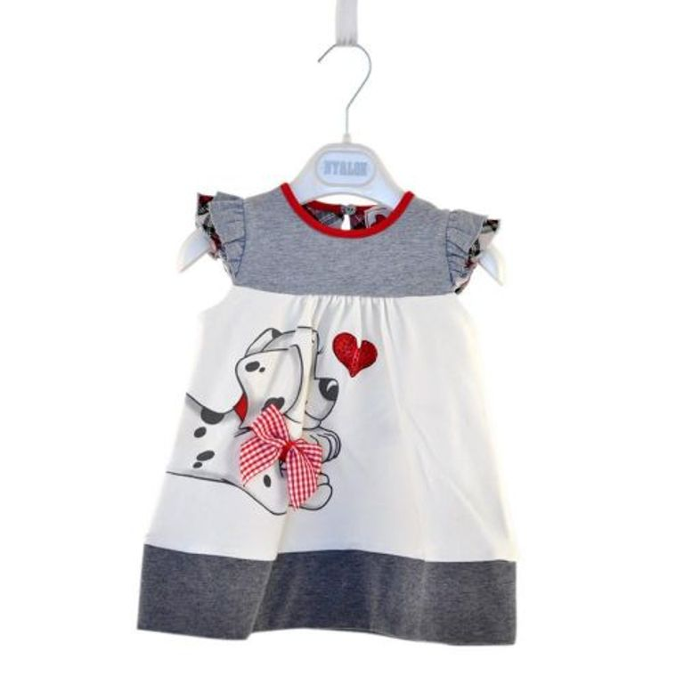 dog-dress-with-bowtie-lovely-baby-summer-dresses-for-girls-kids-clothes-wholesale-p238506 Top 15 Cutest Baby Clothes for Summer