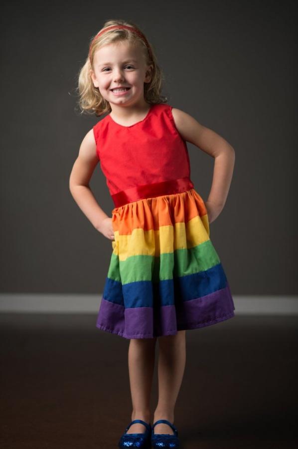 dress1 Gorgeous Rainbow Kids Clothing
