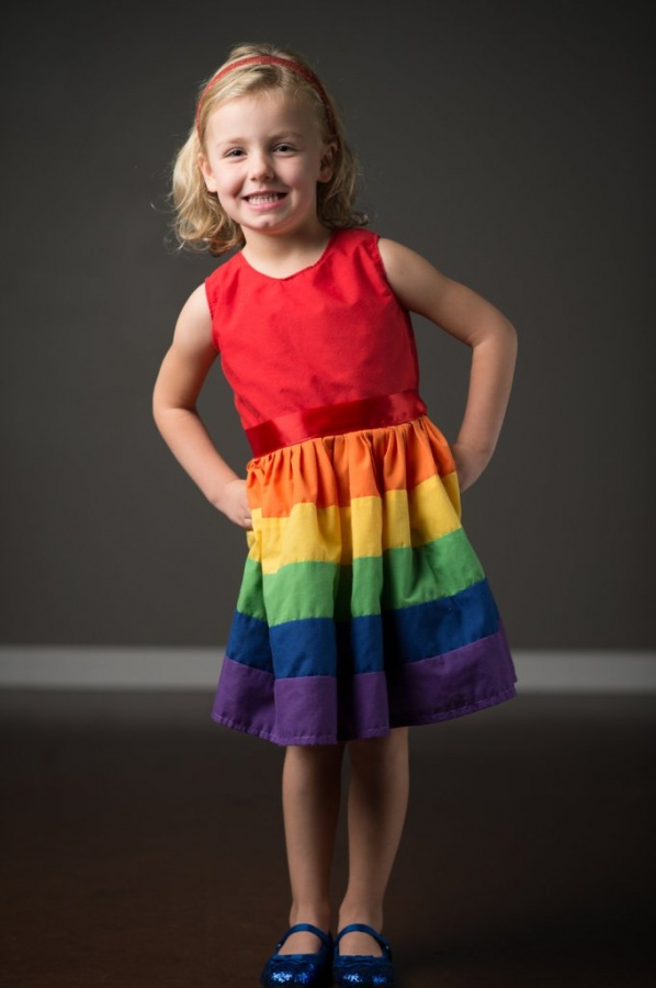 dress1 Gorgeous Rainbow Kids Clothing