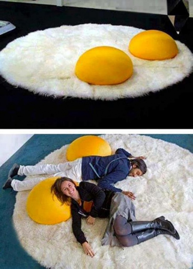 egg-carpet Exotic and Creative Carpet Designs for Your Unique Home