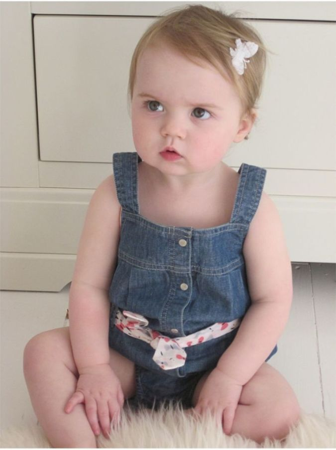 elle-kids-baby-girls-denim-dungaree Top 20 Names for Your Baby Girl