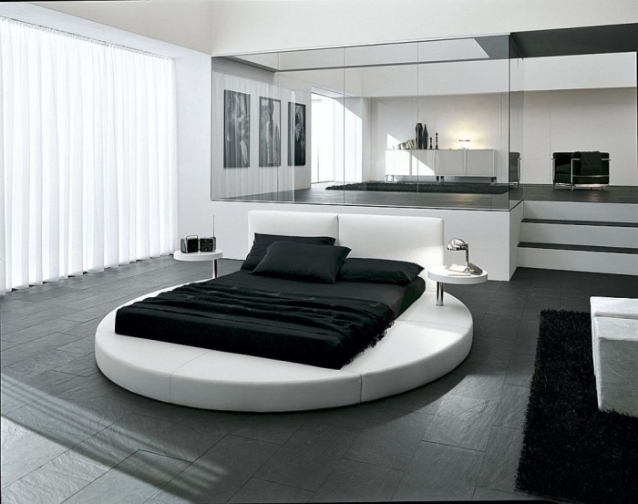 fantastic-superb-bedroom-interior-with-round-bed Fabulous and Breathtaking Bedroom Designs