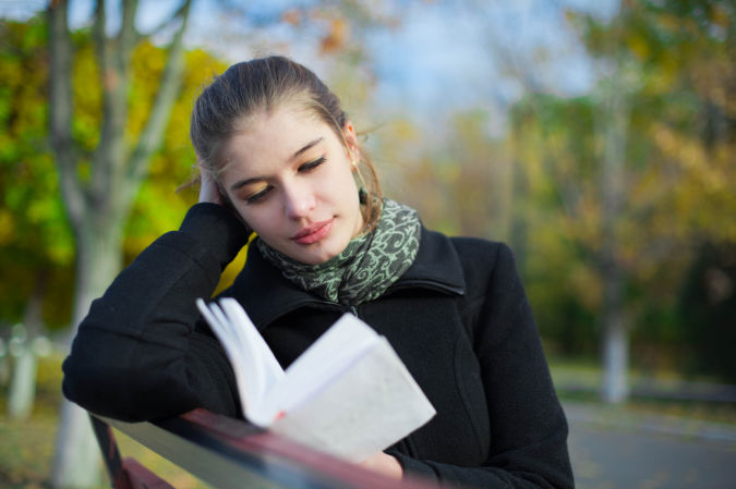 female_reading-book_fall_autumn7 How to Get Rid of Your Accent
