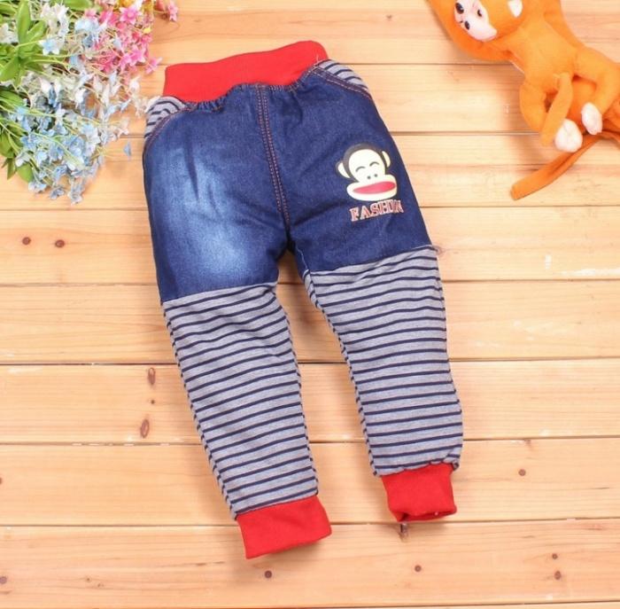 fleece-jeans-baby-warm 30 Cutest Baby Girl Pants
