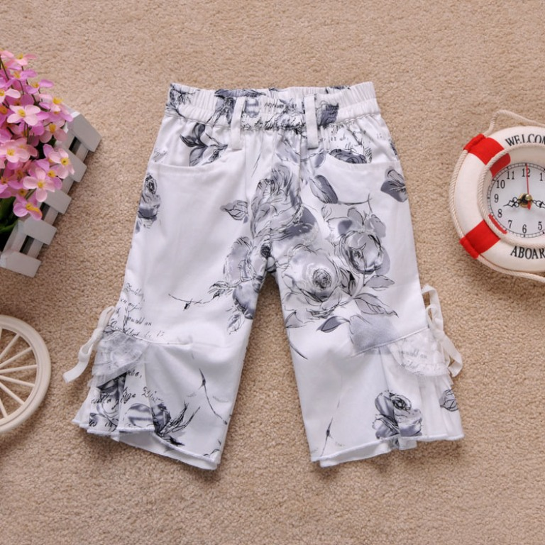floral1 30 Cutest Baby Girl Pants
