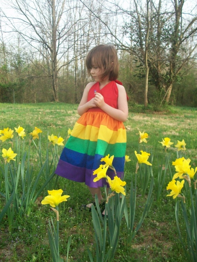 flowers1 Gorgeous Rainbow Kids Clothing