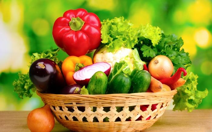 fresh-vegetables-in-basket Baskets For Fruits And Vegetables In Your Kitchen