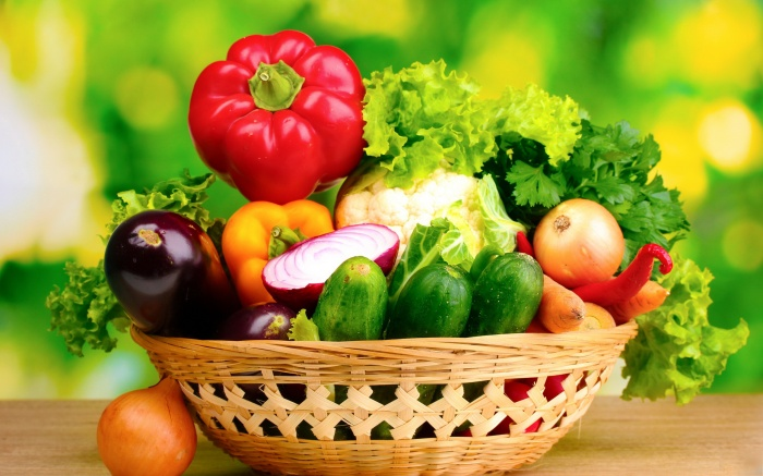 fresh-vegetables-in-basket Baskets For Fruits And Vegetables In Your Kitchen