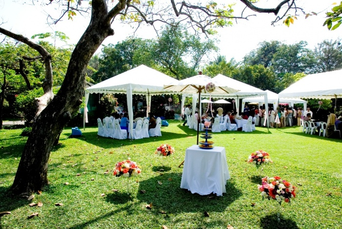 garden-wedding10 Dazzling and Stunning Outdoor Wedding Decorations