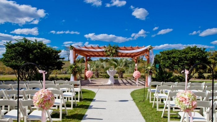 garden Dazzling and Stunning Outdoor Wedding Decorations