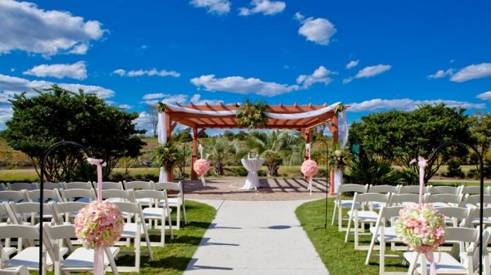 garden Dazzling and Stunning Outdoor Wedding Decorations