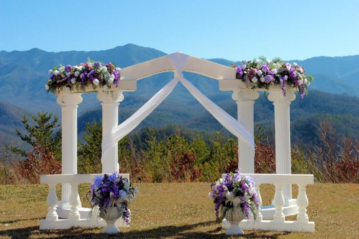 garden5 Dazzling and Stunning Outdoor Wedding Decorations