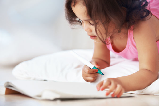 girl-writing-in-book How to Teach Your Child to Read