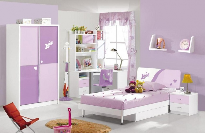 girls Fascinating and Stunning Designs for Children's Bedroom