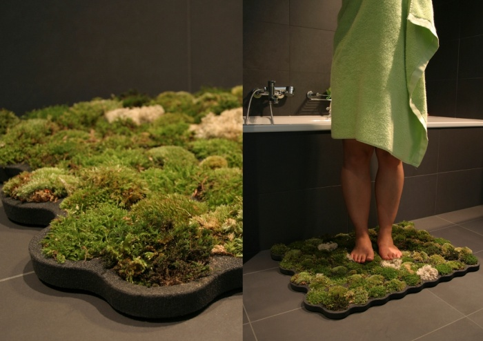green-moss-carpet-rug Exotic and Creative Carpet Designs for Your Unique Home