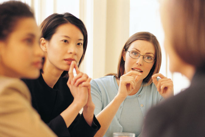 group-women-talking How to Get Rid of Your Accent