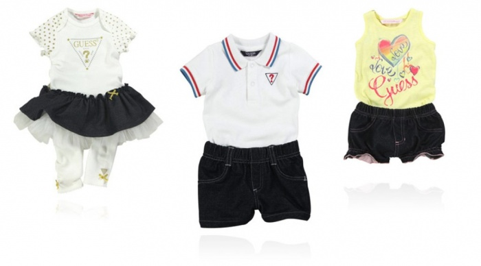 guess-baby-ensemble Top 15 Cutest Baby Clothes for Summer
