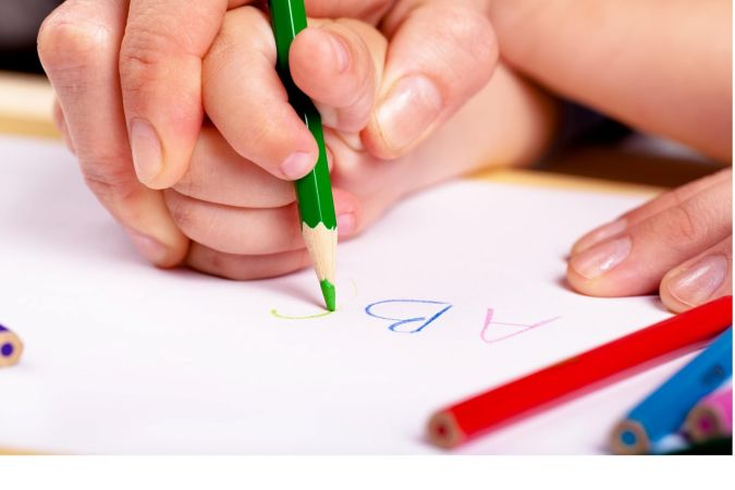 hand-writing How to Teach Your Child to Read