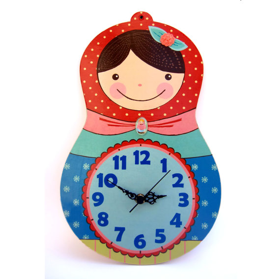 il_570xN.446096263_pb79 15 Amazing Wall Clocks Will Be Pieces Of Art In Your Home