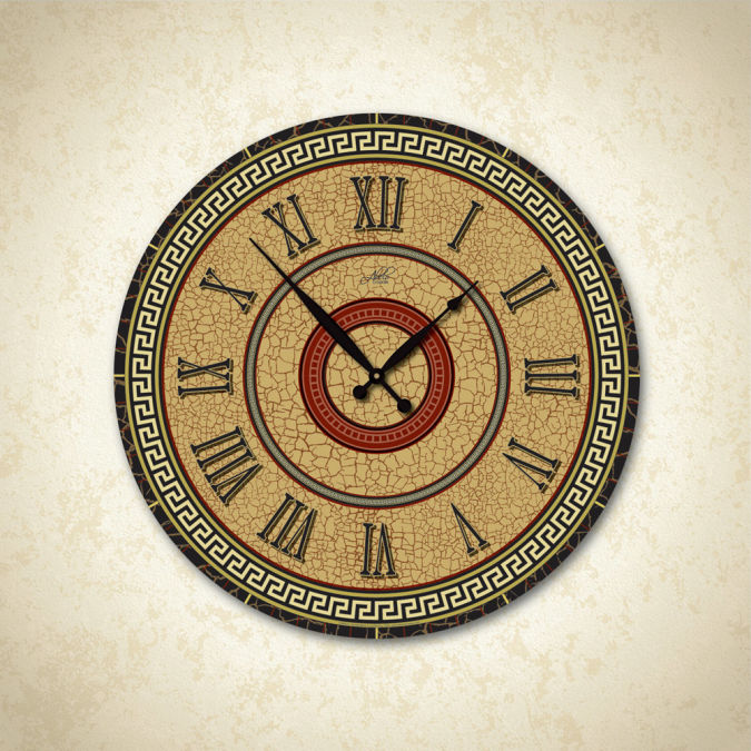 il_fullxfull.350323278 15 Amazing Wall Clocks Will Be Pieces Of Art In Your Home
