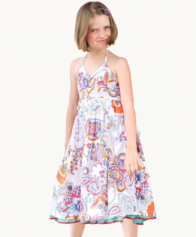 indian-summer-party-dress Most Stylish and Awesome Party Clothing for Girls