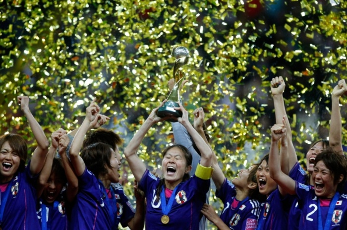 japan-win-world-cup-football-woman FIFA Women's World Cup