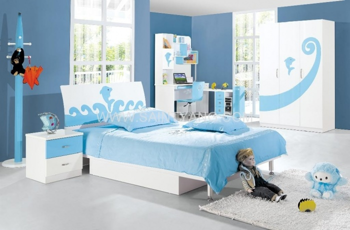 kids-bedroom-set 11 Tips on Mixing Antique and Modern Décor Styles