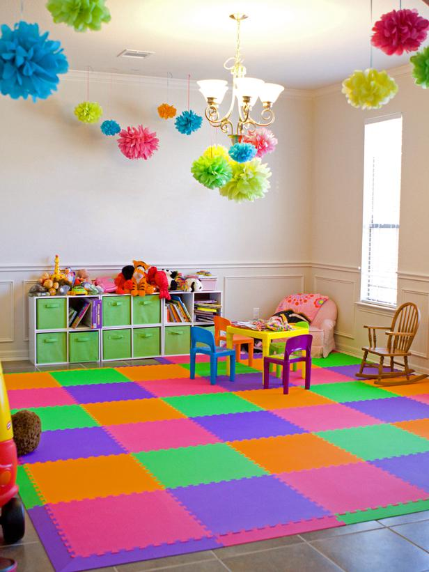kids-room-carpet-tiles Kids' Rugs Are Not Just For Decoration, But An Educational Method