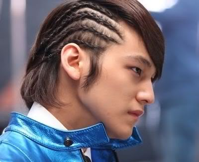 kim-bum-cornrows-hair Top 25 Weird Hairstyles For Men And Women
