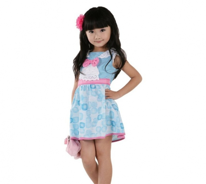 light-blue3 Most Stylish and Awesome Party Clothing for Girls
