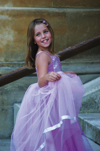 lilac-flower-girl-bridesmaid-dress Fabulous Ceremonial Dresses For Kids