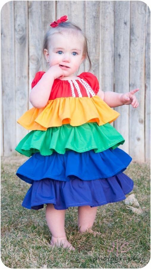 little1 Gorgeous Rainbow Kids Clothing