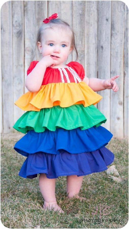 little1 Gorgeous Rainbow Kids Clothing