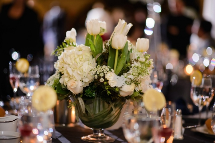 low-centerpiece 50 Fabulous and Breathtaking Wedding Centerpieces