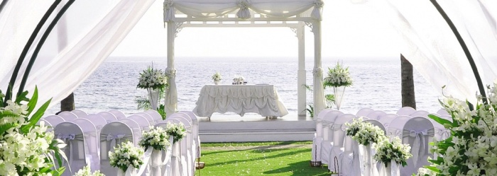main Dazzling and Stunning Outdoor Wedding Decorations