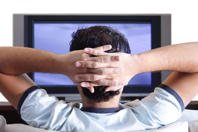 man-watching-tv How to Get Rid of Your Accent