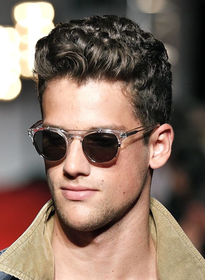 mens-curly-hairstyle Hairstyles For Men