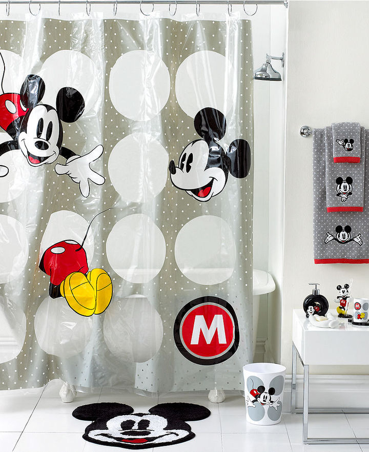 mickey1 10 Fabulous Kids Bathroom Accessories