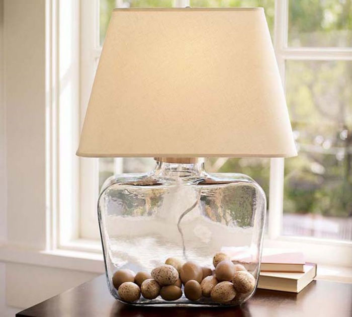 modern-glass-table-lamp-interior Choosing The Perfect Side Lamp For Your Home