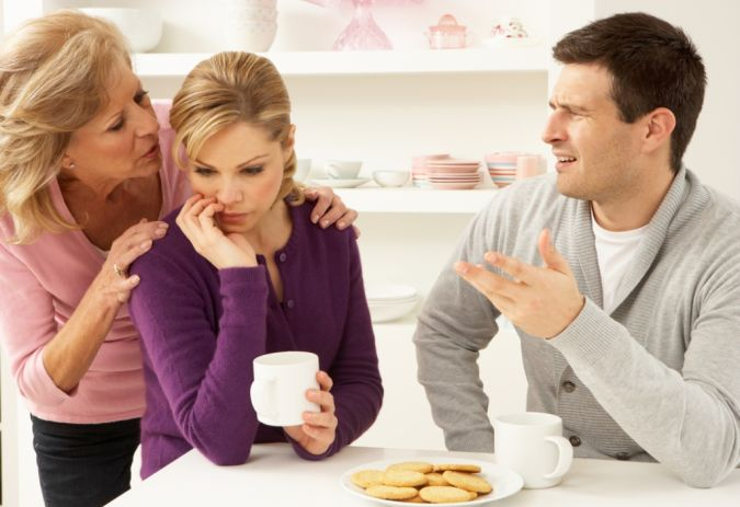 mother-in-law1 10 Tips to Show You How to Deal with Your In-Laws Successfully