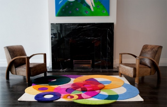 multiple-layers Exotic and Creative Carpet Designs for Your Unique Home