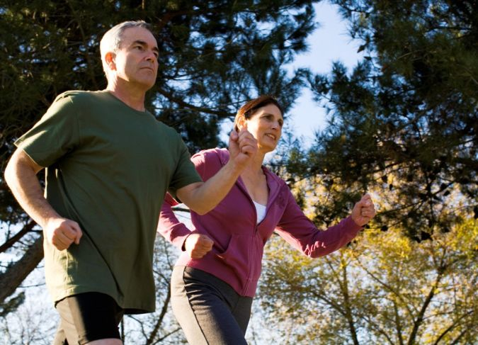 oldercouplerunning Is There a Natural Healing for Depression?