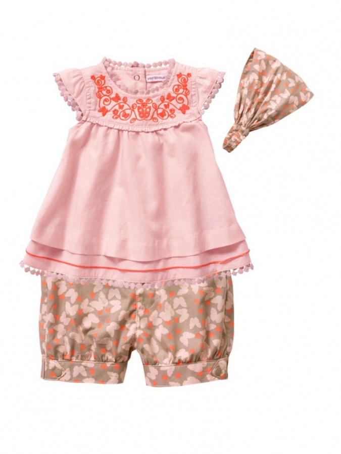 orange Top 15 Cutest Baby Clothes for Summer