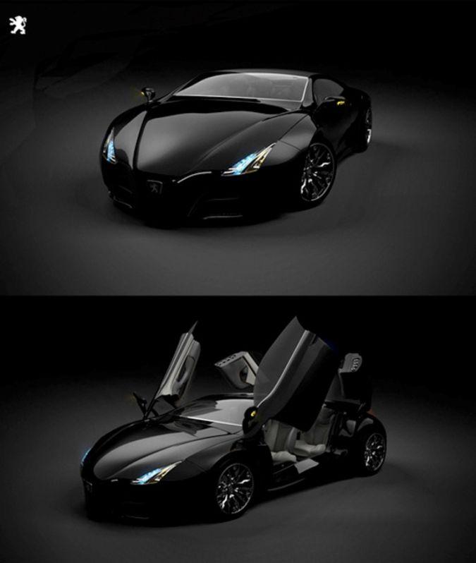 peugeot-shine 30 Creative and Breathtaking Car Design Ideas