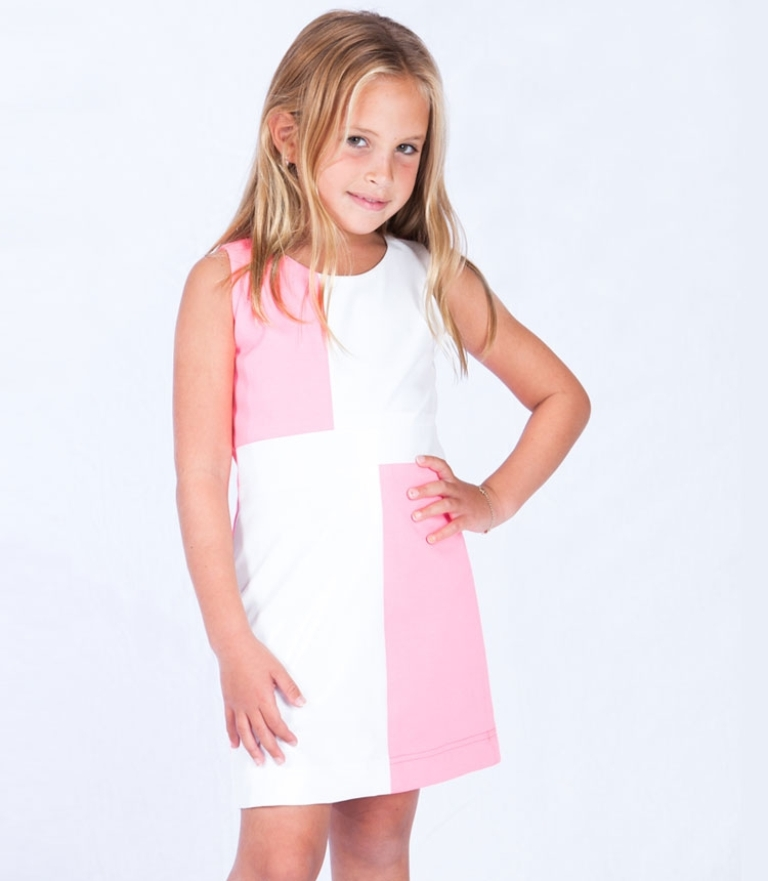 pink-and-white1 Most Stylish and Awesome Party Clothing for Girls