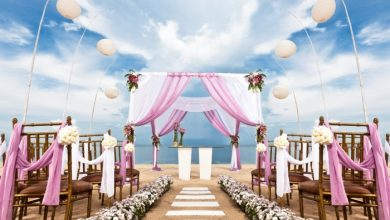 Photo of Dazzling and Stunning Outdoor Wedding Decorations
