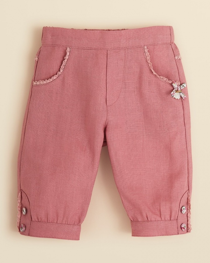 pink.1 30 Cutest Baby Girl Pants