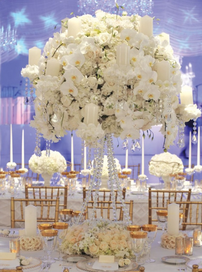 preston-bailey-ivanka-trump-wedding-1 Dazzling and Stunning Outdoor Wedding Decorations