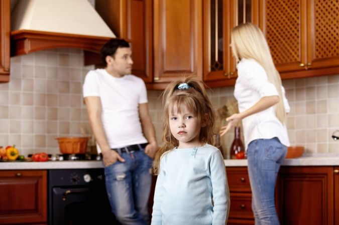 quarrelling To Whom Is the Custody of Children Ordered?